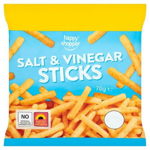 Happy Shopper Salt & Vinegar Sticks 70g